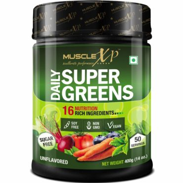 MuscleXp supar-green-400g