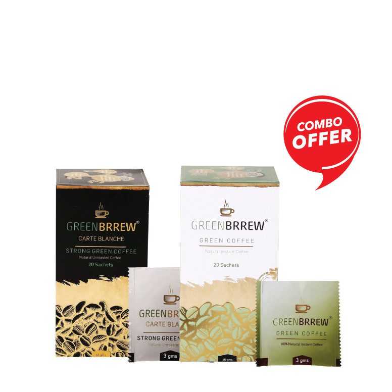 Buy Greenbrrew Coffee Natural & Carte Combo
