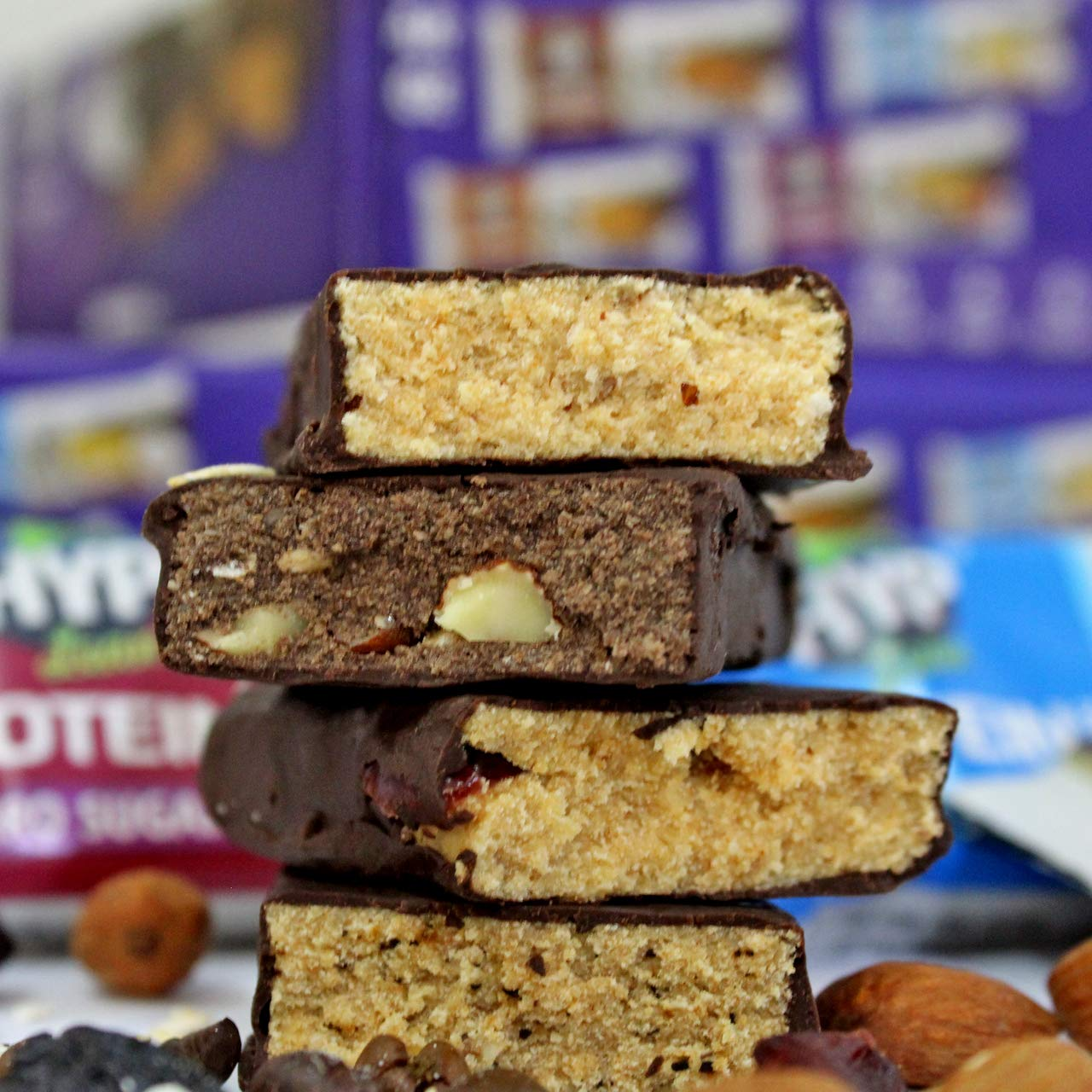 HYP-Sugarfree-Protein-Bars-10g-protein-Oats-Brownie-EspressoBerry-Burst-Coconut-Almond-Pack-of-8-40g-x-82