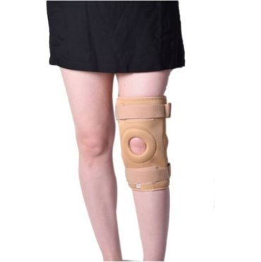 Medtrix Functional Knee Support Joint Protection Gym Wrap Beige