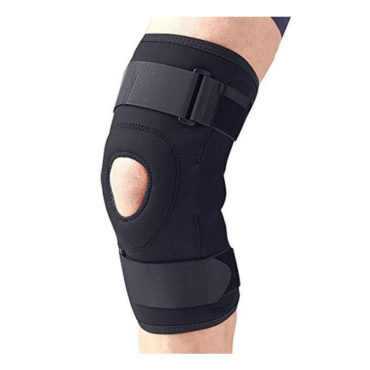 Medtrix-Functional-Knee-Support-Joint-Protection-Gym-Wrap-Black