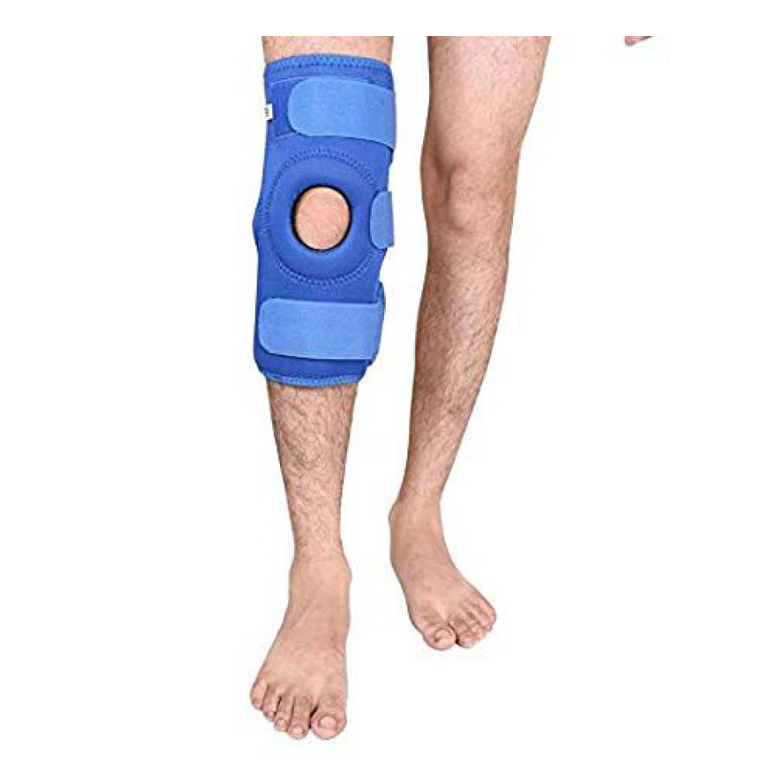 Medtrix-Functional-Knee-Support-Joint-Protection-Gym-Wrap-Blue