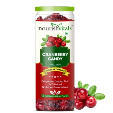 NourishVitals-Cranberry-Dehydrated-Dried-Fruit-200G