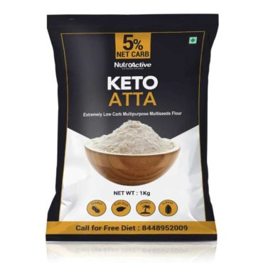 NutroActive Keto Atta Extremely Low Carb Flour 1kg