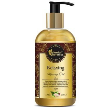Oriental Botanics Relaxing Body Massage Oil 200ml
