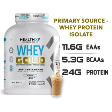 Healthxp whey gold 2k cage Brazil