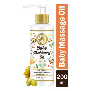 Mom & World Baby Nourishing Oil For Baby Massage 200ml