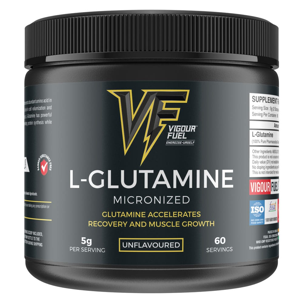 Buy Vigour Fuel L-Glutamine Amino Acid - 300g
