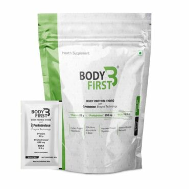 BodyFirst Whey Protein Concentrate with ProHydrolase (70 servings)