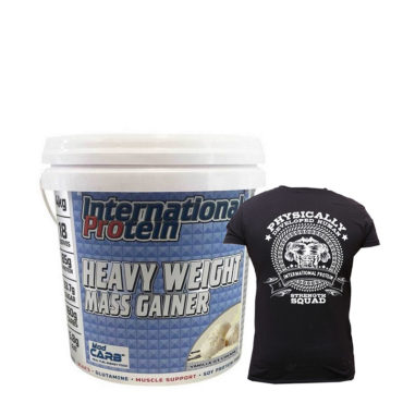 International-Protein-Heavy-Weight-Mass-Gainer-T-shirt