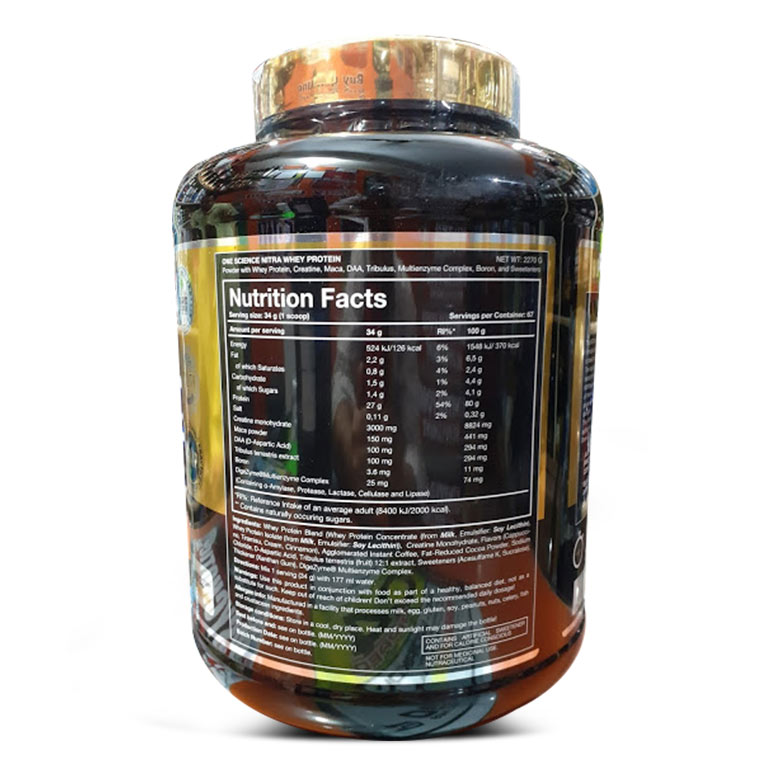 one-science-nitra-whey-2.27kg-supp-facts
