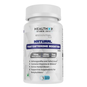 HealthXP Testosterone Booster 60 Caps