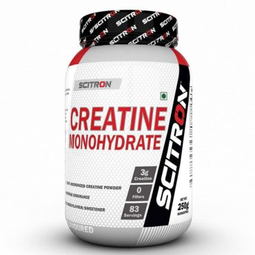 Scitron Creatine Monohydrate 250g Unflavoured-4