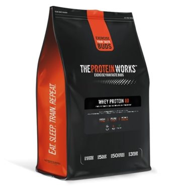 The Protein Works Whey Protein 80 – 1kg