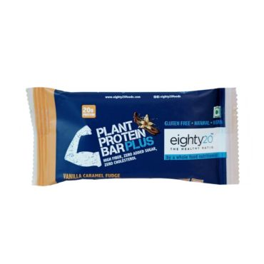 Eighty20 Plant Protein Bar 20g ( Pack of 6 )