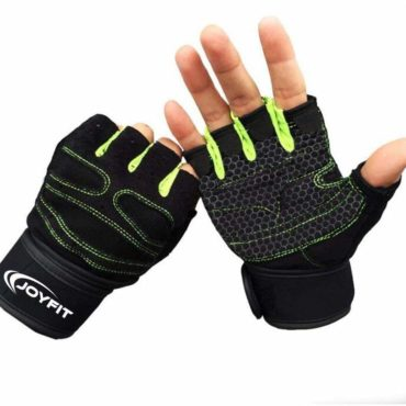 JoyFit-Weight-Lifting-Gloves-Green-Black
