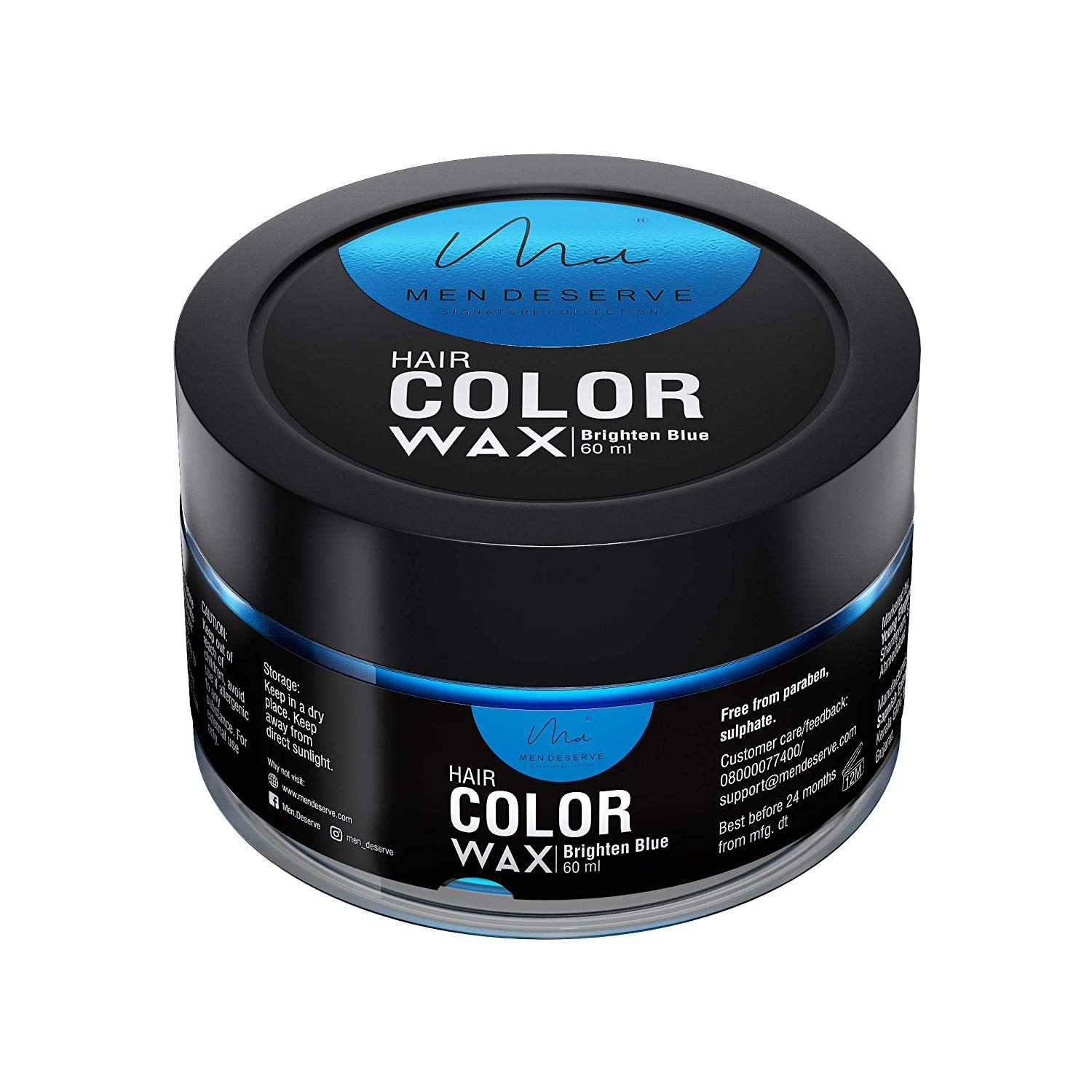 MEN-DESERVE-Hair-Styling-Color-Wax-For-Strong-Hold-brighten-blue