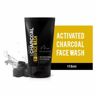 MEN-DESERVE-Refreshing-Charcoal-Face-Wash-with-Whitening-Vitamin-C-and-Icy-Cool-Menthol-115-ml