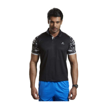 Omtex-Active-wear-T-Shirts-1603-Black-Casual-Sports-T-Shirt