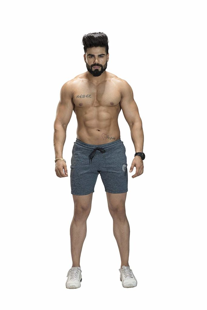 Omtex-Casual-Shorts-for-Men-Grey3