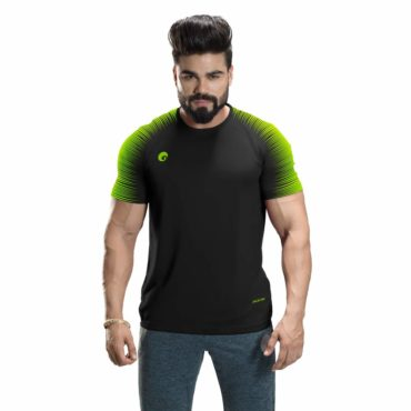 Omtex-Casual-T-Shirt-Spider-Black