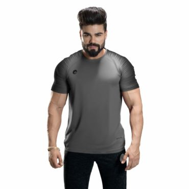 Omtex-Casual-T-Shirt-Spider-Grey