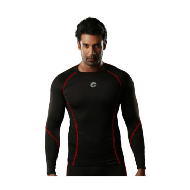 Omtex-Compression-Top-Full-Sleeve-Red-Shock-for-Gym-Fitness-and-Sports3
