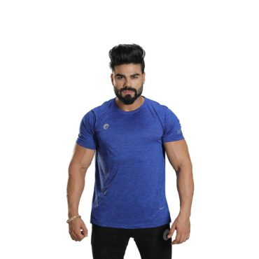 Omtex Sports T-Shirt for Men (Blue)