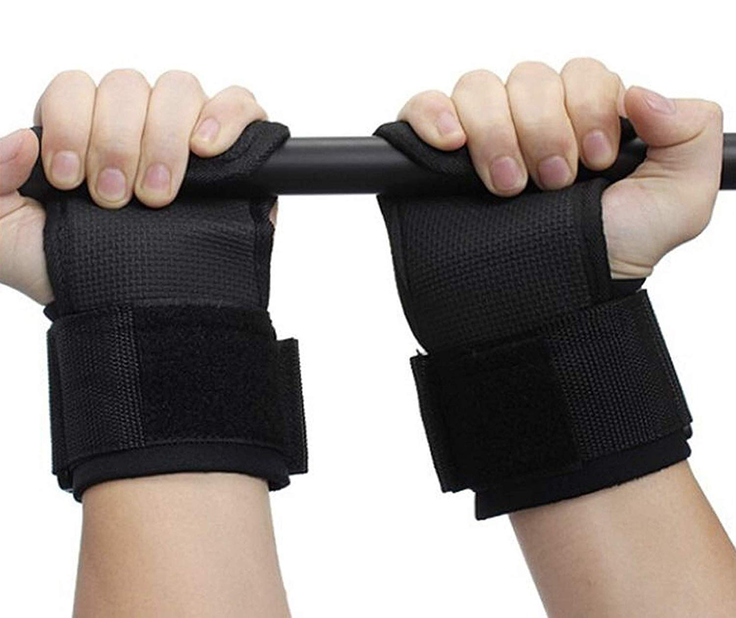Strauss-Adjustable-Weight-Lifting-Strap-with-Palm-Protecting-Grip