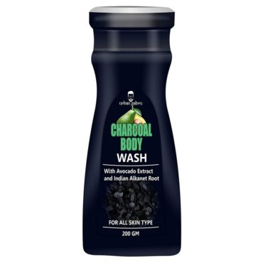 UrbanGabru-Charcoal-body-wash-with-avocado-Indian-alkanet-root-Activated-Charcoal-Shower-Gel-200-gm-@