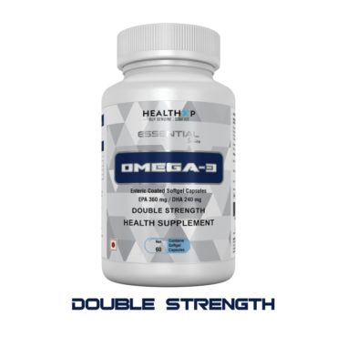 HealthXP Omega 3 Double Strength