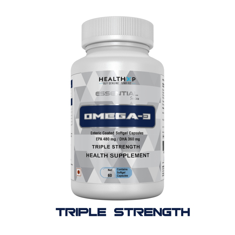 HealthXP Omega 3 Triple Strength