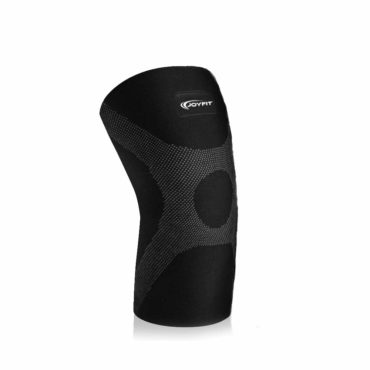 Joyfit-Knee-Compression-Sleeve-1-Pc-for-Running-small-black-grey