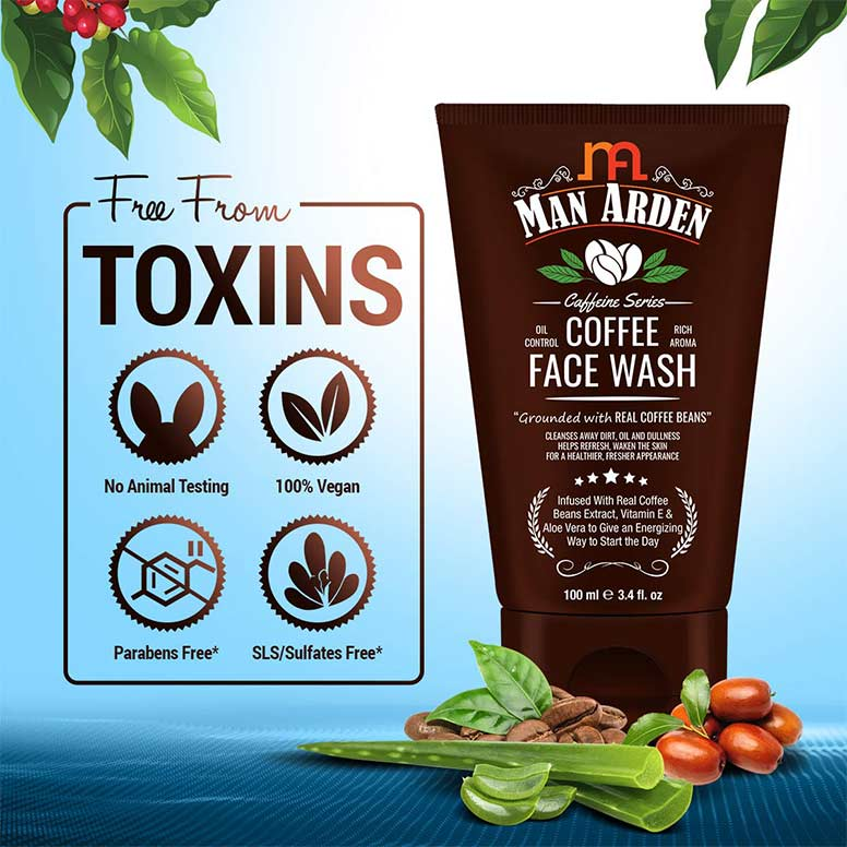Man-Arden-Recharge-Coffee-Face-Wash-100ml---Cleanses-Away-Dirt,-Oil-and-Dullness---02