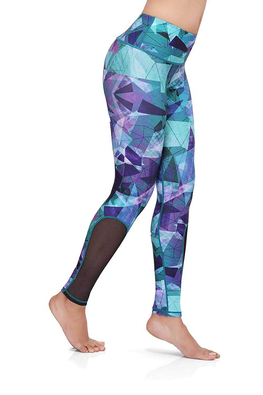 Omtex-Athletica-Activewear-Bottoms-for-Women-Blue-Multicolor2