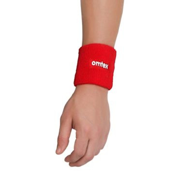 Omtex Wrist Sweat Band Red