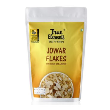True-Elements-Jowar-Flakes-with-Honey-And-Almonds