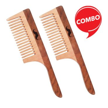 Men Deserve Neem & Sheesham Wooden Hair Comb