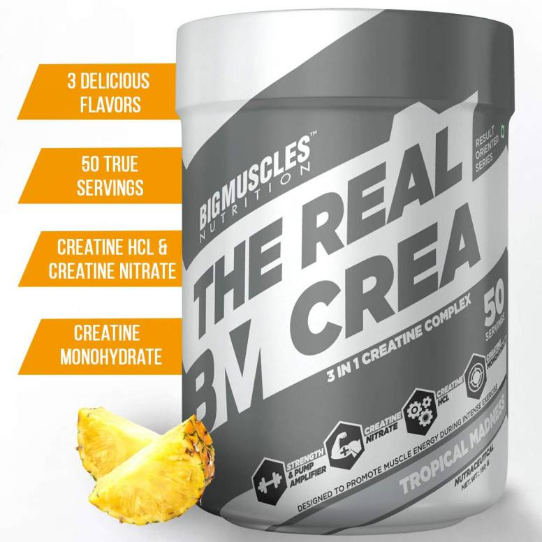 Bigmuscles Nutrition The Real Creatine - 50 Servings