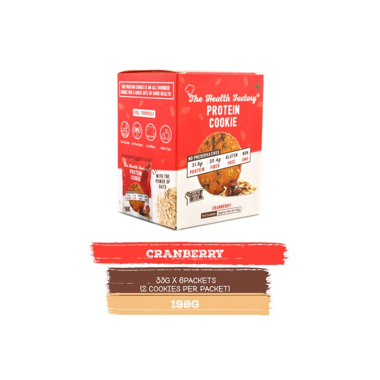 The Health Factory Protein Cookie - Cranberry
