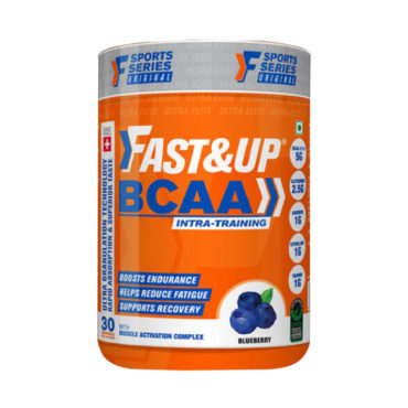 Fast&Up BCAA – Jar of 30 servings – Blueberry