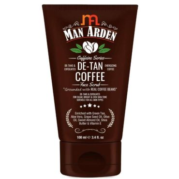 Man Arden Caffeine De Tan Coffee Face Scrub
