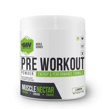 Muscle Nectar Pre Workout Gym Supplement - 200gm