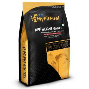 Myfitfuel Weight Gainer 1 kg (2.2 lbs) Double Rich Chocolate