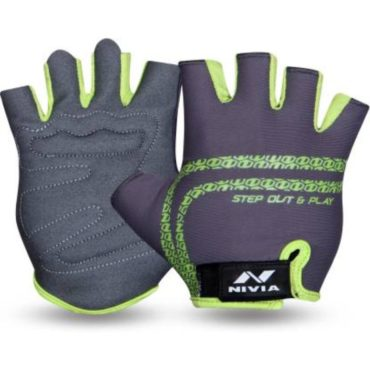Nivia Copperhead Gym & Fitness Gloves (Grey)