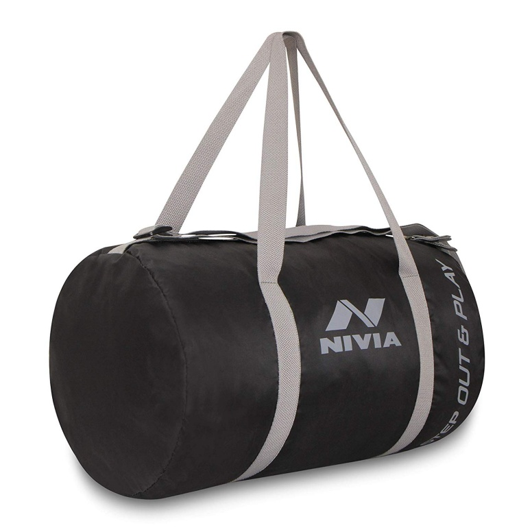 Nivia Enfold Round Gym Bag