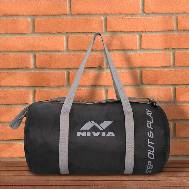 Nivia Enfold Round Gym Bag2