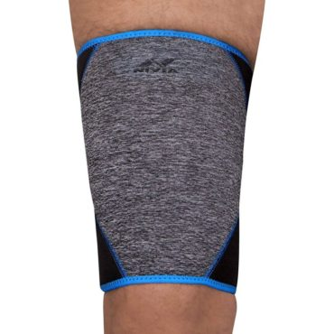 Nivia Orthopedic Thigh Support (Grey Blue)