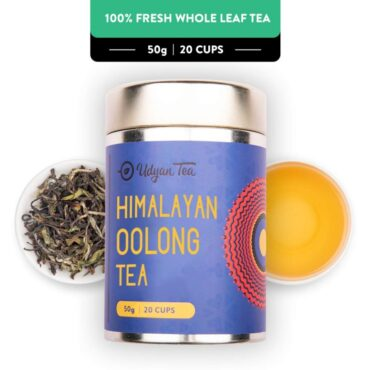 Udyan Tea Himalayan Oolong Tea - 50 gm