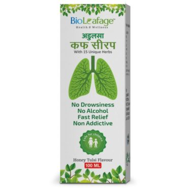 Bio Leafage Adulsa Cough Syrup (100 ml Each)